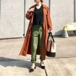 気温23度♡大人女子の服装 秋冬トレンチコートコーデなどを紹介