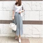 気温18度のお仕事コーデ♡春のキレイめスカートの合わせ方を紹介