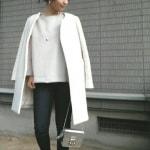 冬の服装♡白に合う色コーデ総まとめ|黒・赤・緑・水色・ピンク・グレーなど