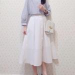 気温21度の服装♡夏の白スカートでモテコーデをつくろう♪