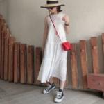 8月の大阪を快適に過ごせる服装|おでかけコーデ・夏コーデ