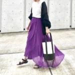 紫の服に合う色は12色!薄い紫・濃い紫を使ったコーデ術