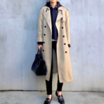 気温7度の服装|寒い日のコートの中は?おすすめアウターコーデ