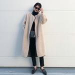 気温8度の服装|寒い日のコートの中は?防寒コートコーデも